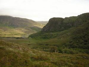 Eagles Nest from Glaisín na Marbh, Killarney National Park, photo by Simon Barron