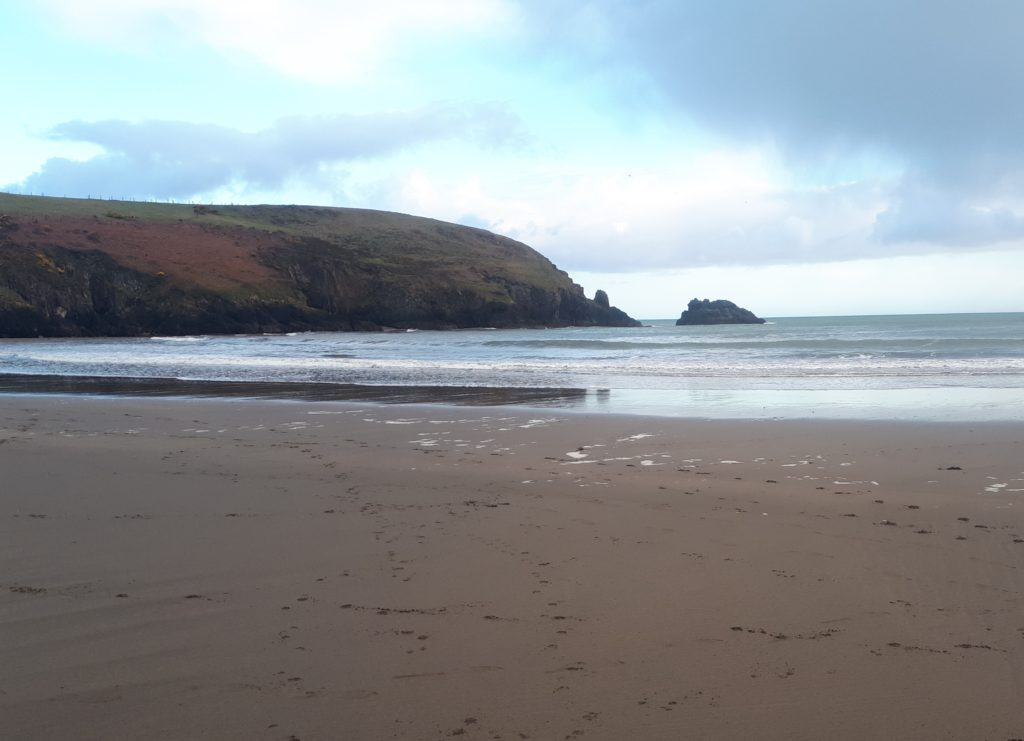 Stradbally Cove, Co. Waterford, photo by John Brophy
